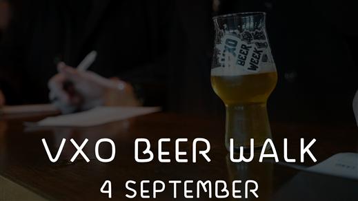 Bild för VXO Beer Walk - 4 september 2019, 2019-09-04, VXO BEER WALK