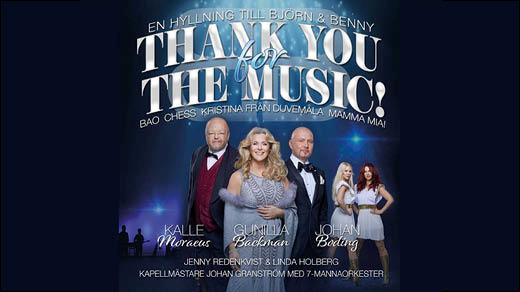 Bild för Thank You for the Music (Obs - nytt datum), 2021-04-06, Stora Salen