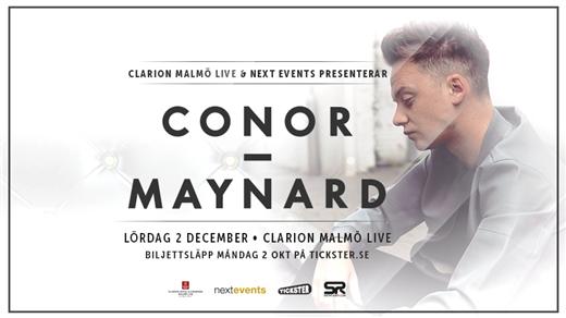 Bild för Conor Maynard Live & Klubb at Clarion Malmö Live, 2017-12-02, Clarion Malmö Live