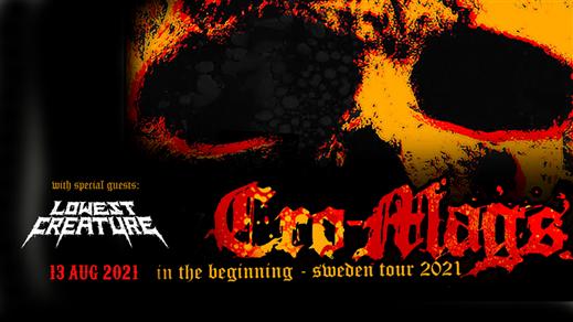 Bild för Cro-Mags + Lowest Creature, 2022-08-12, Nöjesfabriken