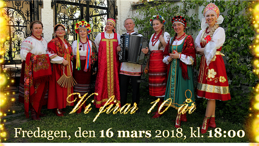 Bild för Blommiga Sjalen fyller 10 år, 2018-03-16, ABF - Huset
