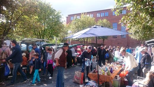 Bild för Bakluckeloppis på Street Food Market, 2018-05-19, Lindholmen