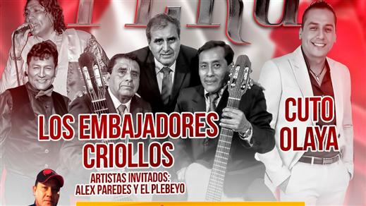 Bild för Las Fiestas Patrias Del Perú A Lo Grande, 2019-07-27, Kraken T-Globen