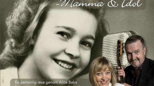 Bild för Alice Babs - mamma och idol 12/10 kl. 18:00, 2017-10-12, Caféscenen, Västerbottensteatern