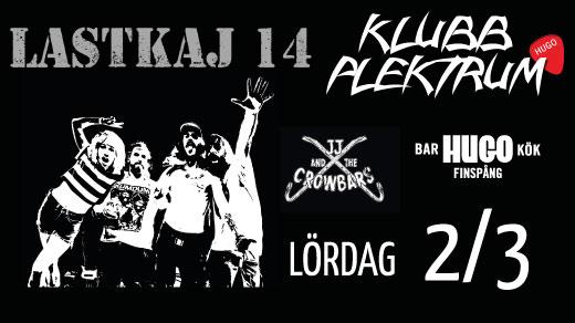 Bild för LASTKAJ 14 - Klubb Plektrum 2/3, 2019-03-02, Hugo Finspång
