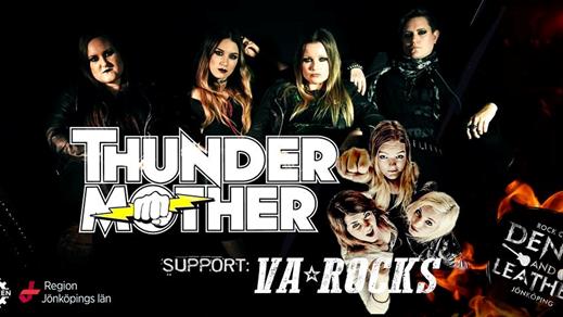 Bild för Denim and Leather - Thundermother, 2018-03-03, Fabriken