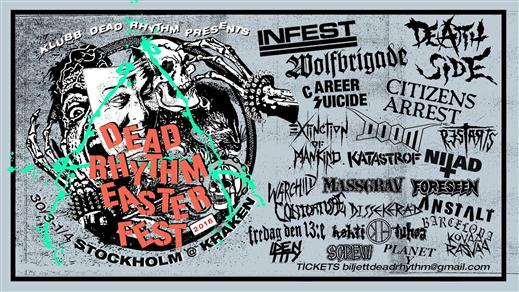 Bild för Dead Rhythm Easter Fest, 2018-03-30, Kraken Rökerigatan 1D