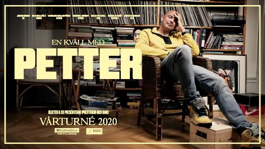 Bild för En kväll med Petter, 2021-12-11, Folkets Hus