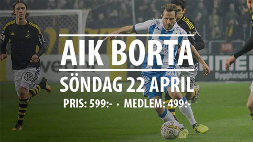 Bild för AIK away, 2018-04-22, Clarion Hotel Post
