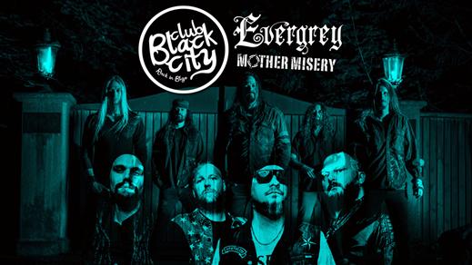 Bild för Evergrey & Mother Misery på Black City - Liljan, 2018-02-16, Liljan