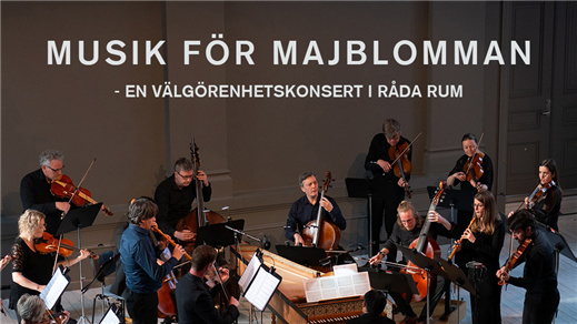 Bild för Musik för Majblomman – välgörenhetskonsert i Råda, 2019-10-12, Råda Rum