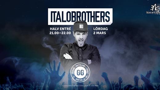 Bild för Italobrothers VIP-FÖRKÖP, 2019-03-02, GG i Uddevalla