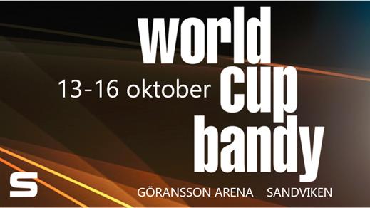 Bild för World Cup Bandy 13-16 okt, 2016-10-13, Göransson Arena/Jernvallen