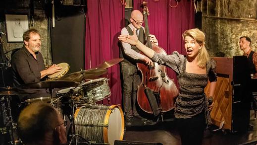 Bild för Thn Jazz - Frida Öhrn & The Blue Sounds 25/9, 2021-09-25, Kulturbaren, Folkets Hus Kulturhuset