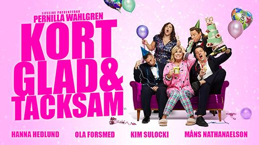 Bild för Pernilla Wahlgren – Kort, glad och tacksam, 2019-03-29, UKK - Stora salen