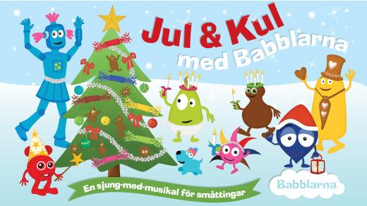 Bild för Jul & Kul med Babblarna | 11:00, 2021-10-24, Konserthuset
