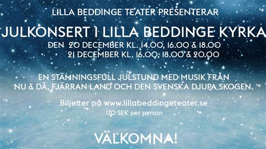 Bild för Julkonsert i Lilla Beddinge kyrka, 2020-12-21, Lilla Beddinge kyrka
