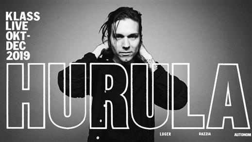 Bild för Hurula + Support, 2019-11-22, Club Deströyer