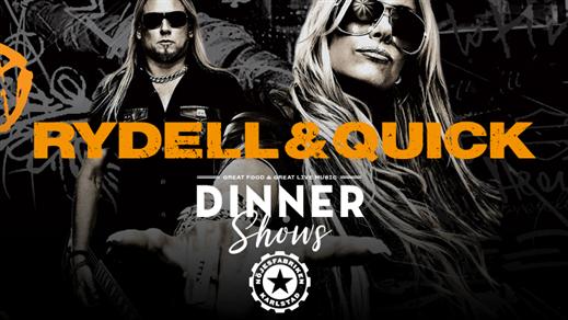 Bild för Rydell & Quick – Dinnershow, 2020-12-12, Mässhallen