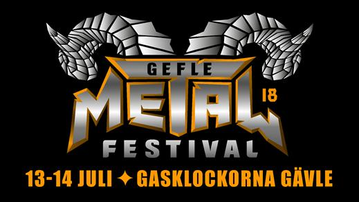 Bild för Gefle Metal Festival 2018, 2018-07-13, Gasklockorna