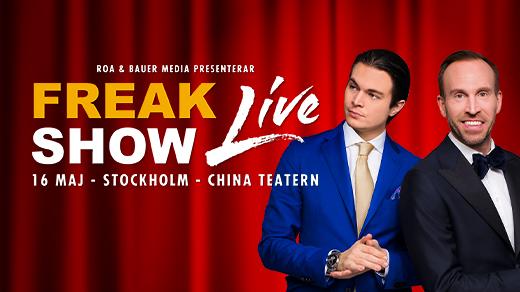 Bild för FREAKSHOW LIVE, 2020-10-08, China Teatern