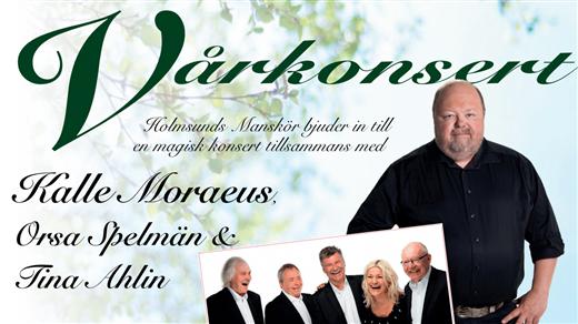 Bild för Holmsunds Manskörs VÅRKONSERT, 2019-04-27, Idun, Umeå Folkets Hus