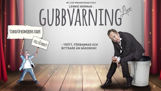 Bild för LENNIE NORMAN - GUBBVARNING LIVE 1/11, 2018-11-01, Hebeteatern, Folkets Hus Kulturhuset