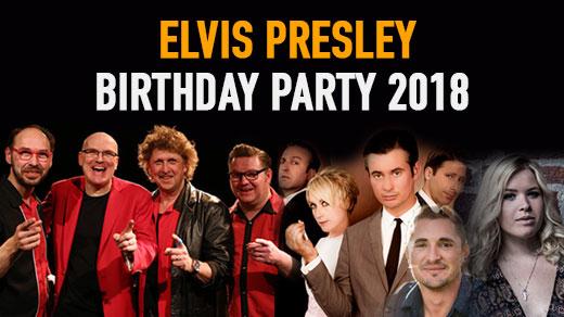 Bild för Elvis Presley Birthday Party 2018, 2018-01-06, Katalin