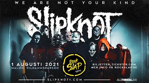 Bild för Rock Slap feat Slipknot, 2021-08-01, Tallriken - Pildammsparken