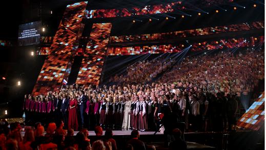 Bild för Invigningskonsert med Eurovision Choir, 2019-08-03, Partille arena