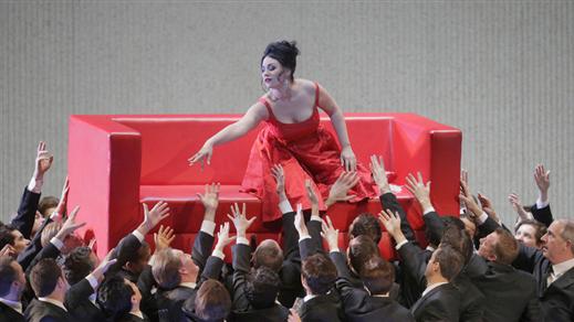 Bild för The Metropolitan Opera - La Traviata 11/3, 2017-03-11, Miklagård, Umeå Folkets Hus