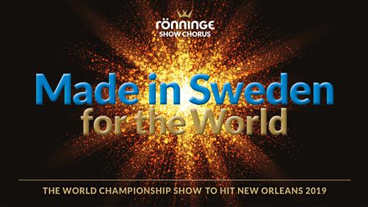 Bild för Made in Sweden for the World 17:00, 2019-09-08, Nacka aula