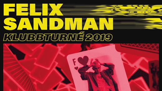 Bild för FELIX SANDMAN, 2019-10-18, Cinema