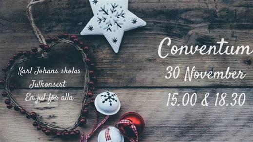 Bild för Karl-Johan skolas Julkonsert 15:00, 2019-11-30, Conventum Kongress