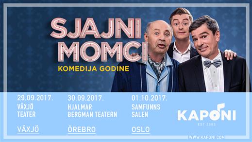 Bild för Sjajni Momci - Örebro, 2017-09-30, Hjalmar Bergmanteatern
