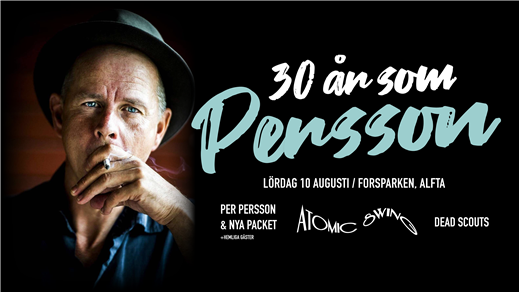 Bild för 30 år som Persson, 2019-08-10, Forsparken