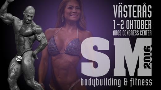 Bild för SM Bodybuilding & Fitness 2016 Lördag, 2016-10-01, Aros Congress Center