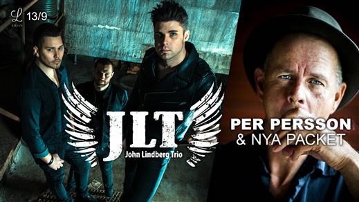 Bild för John Lindberg Trio + Per Persson & Nya Packet, 2019-09-13, Liljan