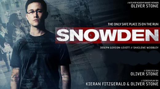 Bild för Snowden (15 år), 2016-09-26, Biosalongen Folkets Hus
