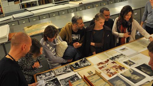 Bild för Besök bibliotekets arkiv, sön 14.45, 2016-10-23, Filmhuset