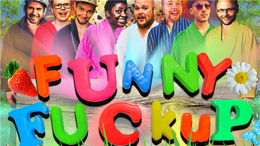 Bild för Äntligen Roligt: Funny Fuckup 2018, 2018-07-25, Biljardkompaniet