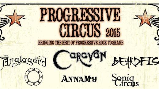 Bild för PROGRESSIVE CIRCUS 2015, 2015-04-25, The Tivoli