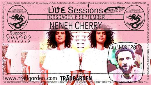 Bild för Neneh Cherry / Lindstrøm - Smalltown Supersound, 2018-09-06, Trädgården