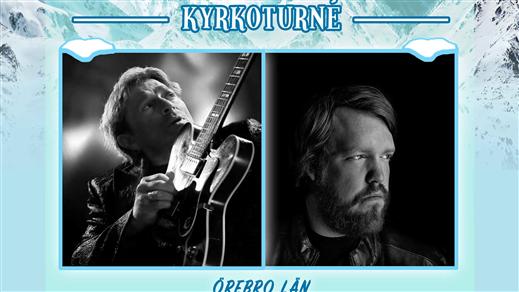 Bild för Vinterkonsert med Mikael Rickfors & Martin Almgren, 2019-12-11, Öja Kyrka
