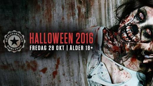 Bild för Halloweenfesten 2016, 2016-10-28, Nöjesfabriken