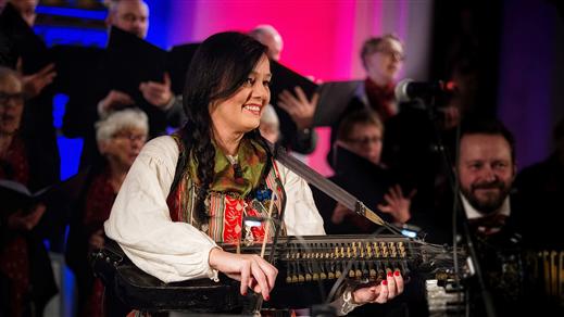 Bild för Konsert: Åsa Jinder sjunger julens pärlor, 2019-12-04, Kulturhuset Finspång, Stora Salongen