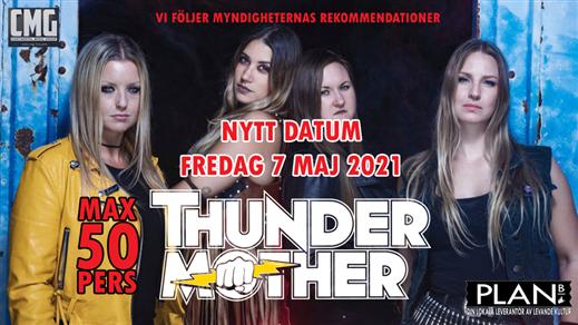 Bild för THUNDERMOTHER, 2021-05-07, Plan B