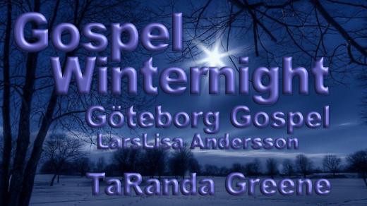 Bild för Gospel Winternight 18:00, 2017-11-25, Annedalskyrkan Göteborg