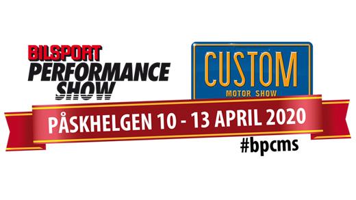 Bild för Bilsport Performance & Custom Motor Show, 2020-04-10, Elmia
