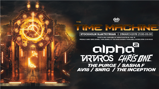 Bild för D2B Presents: The Time Machine, 2019-03-01, Slaktkyrkan